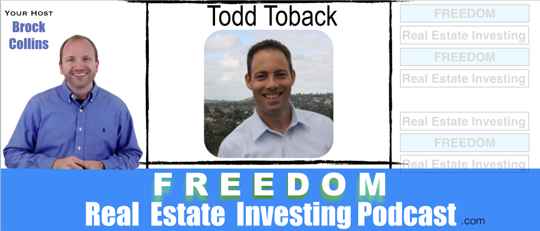 7 Figures Wholesaling Houses With Todd Toback | Podcast 041