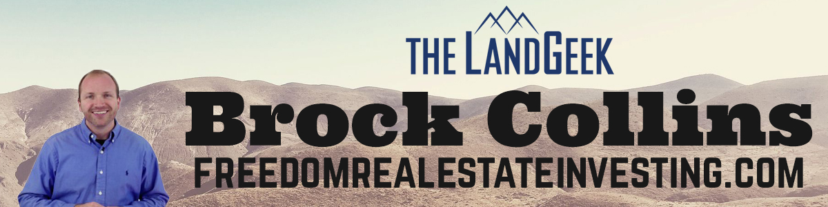 Real Estate Investing Podcast Land Geek with Brock Collins
